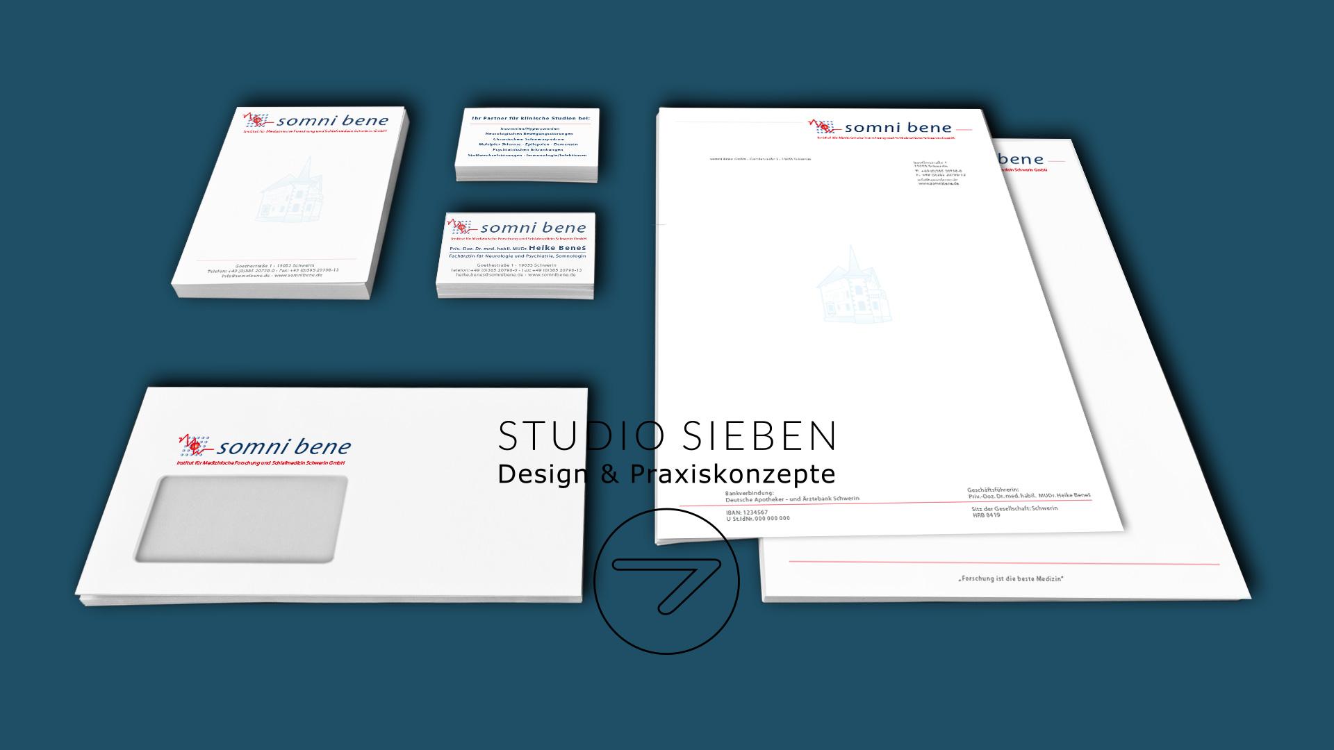 Institut für Medizinische Forschung und Schlafmedizin Schwerin Redesign Corporate Identity