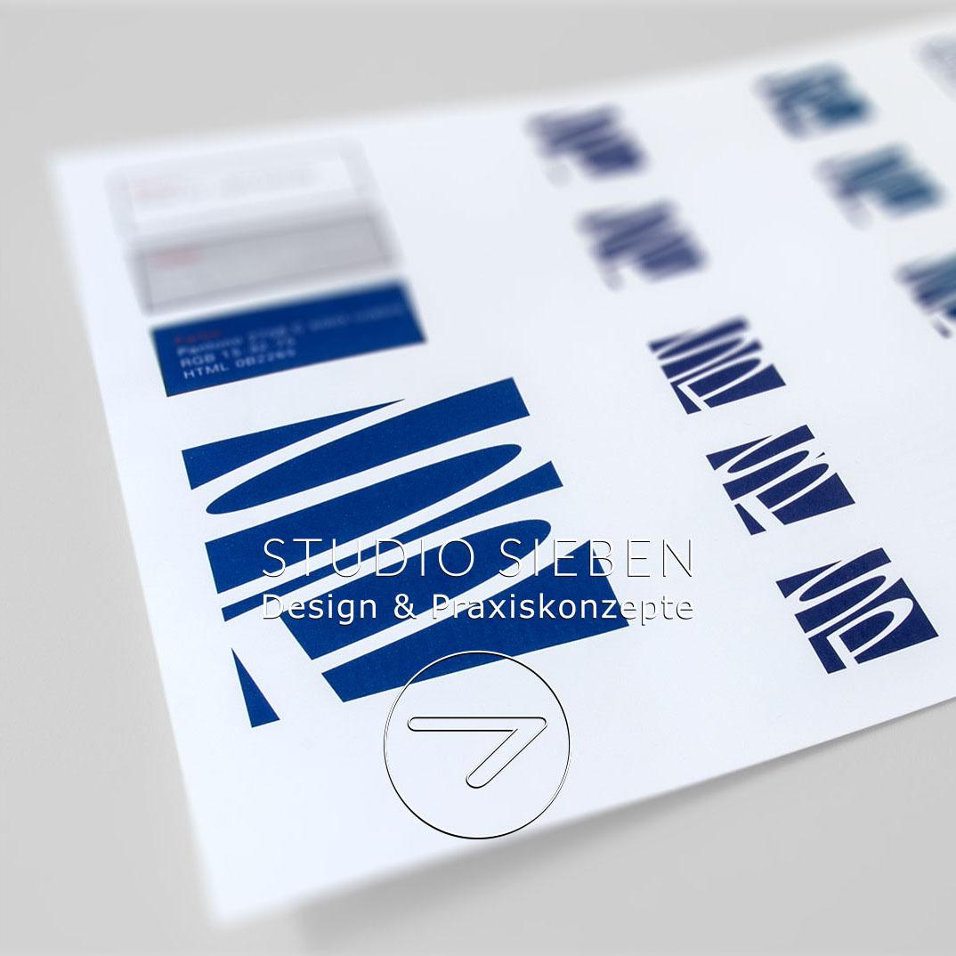 Corporate Identity für eine Kanzlei in Düsseldorf (Logo, Kanzleischild, Fahrzeugbeschriftung)